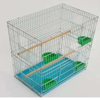 *Sold out*  Galvanised steel cage of 70 cm height