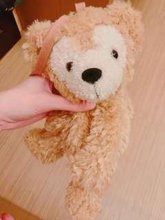 達菲熊側掛包