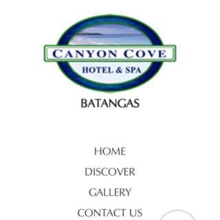 Canyon Cove Voucher (July 21-22)