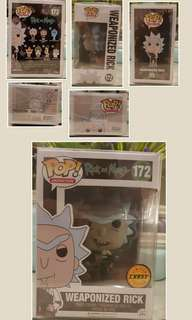 Funko Pop! Rick & Morty #172 Weaponized Rick (CHASE)