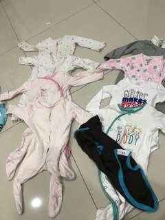Used pre love baby clothings