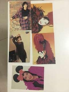 周慧敏poster postcard 全部$30