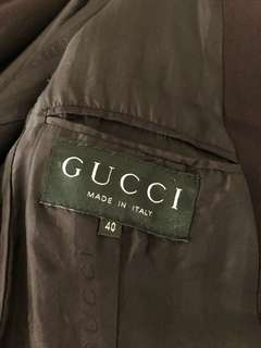 Gucci 西裝褸