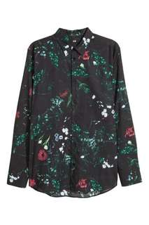 Want To Buy; H&M Floral Shirt