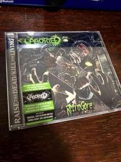 "Aborted ""Retrogore"" CD (Death Metal)"