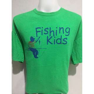 ISLAND FISHING KIDS T-SHIRT