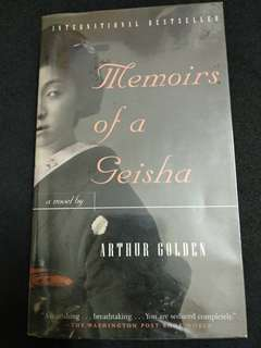 Arthur Golden - Memoirs of a Geisha #July50
