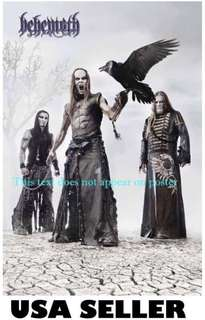 Behemoth Band Poster