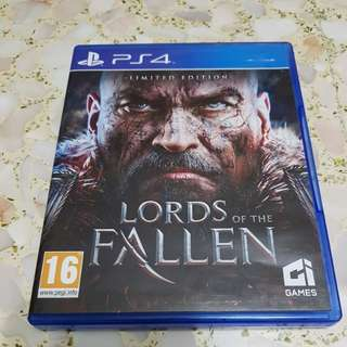 Ps4 lords of fallen