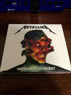 "Metallica ""Hardwired.. to Self-Destruct"" CD"