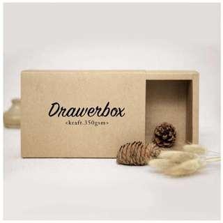 Kraft Drawer Box (Multiple Sizes)