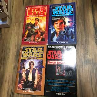 Star Wars novels - Han Solo Adventures
