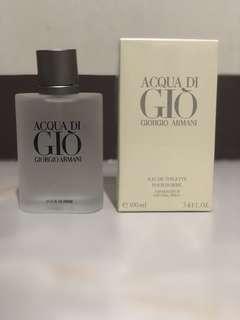Authentic Acqua De Gio Giorgio Armani