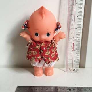 Kewpie 沙律Bb 興業銀行 丘比 15cm 軟膠 公仔 昭和娃娃