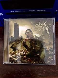 "Cattle Decapitation ""Monolith of Inhumanity"" CD"