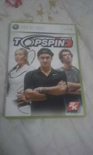 XBOX 360 TOPSPIN3