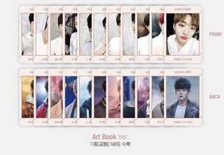 [LOOSE ITEM] WANNA ONE UNDIVIDED ART BOOK VER PC