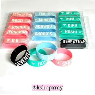 Seventeen ' We Make You ' Japan Debut Showcase Duplicate Wristband