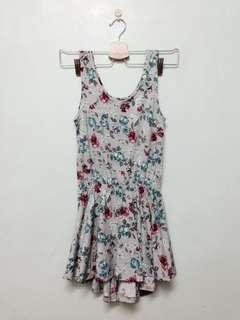 棉質碎花小洋裝