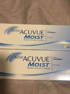 Acuvue Moist Daily Contact Lens