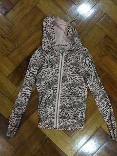 Zara Baby Pink Cheetah Jacket