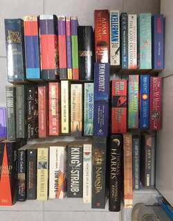 Pre-loved Books (Fiction)