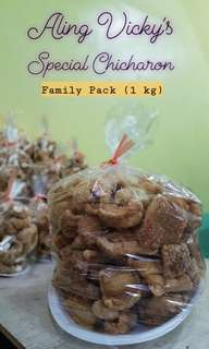 Aling Vicky's Special Chicharon (1kg pack)