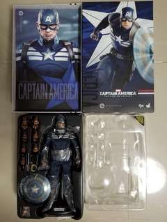 Hottoys, 美國隊長,Captain America, Winter Soldier, 潛行版,Stealth mode version,
