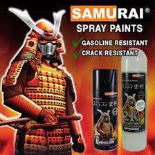 SAMURAI paint Spray can!