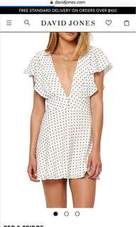 Bec and Bridge Petite Miam Plunge dress