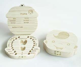 Wooden Tooth Box