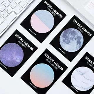 [Buy 5 Get 1 Free] Circular Sticky Note