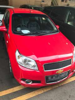 Private car for rent - Chevrolet Aveo 5