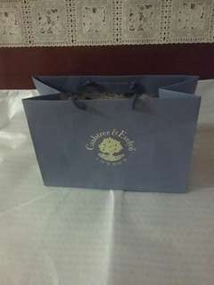 Crabtree & Evelyn paper gift bag