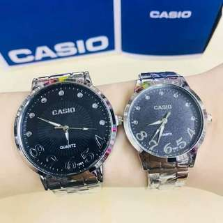 #065 Couple Watch  Casio With box (4 designs)