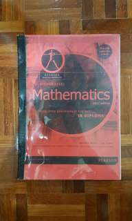 Pearson IB Mathematics HL textbook