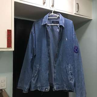 Ralph Lauren Zipup Denim Jacket