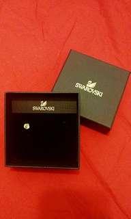Swarovski 水晶耳環 (單隻)