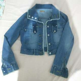 Cool Denim Jacket Crop (ikka)