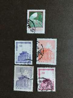 中華民國郵票早期已銷郵票A001
