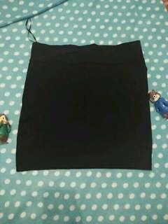 Black mini skirt (Original produk Rmp)