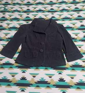 Black maong jacket