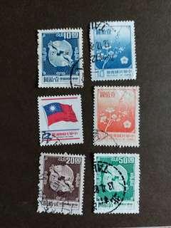 中華民國郵票早期已銷郵票A002