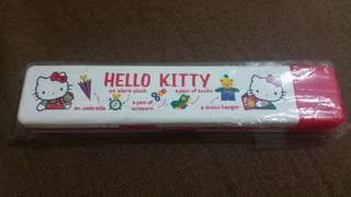 Sanrio Hello Kitty 絕版 膠筆盒 1989