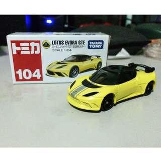 Tomica 104 Lotus Evora GTE