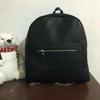 Mango Leather Backpack