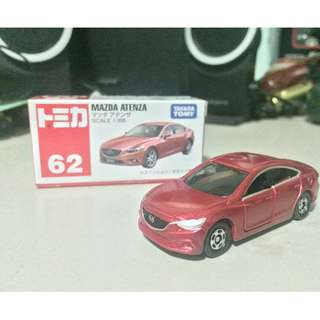 Tomica 62 Mazda 6 / Atenza Red