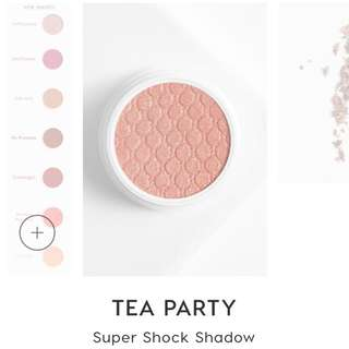 On hand Colourpop super shock shadow tea party