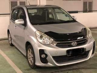 Visor bonet for Perodua myvi