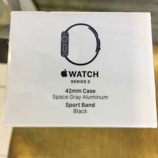 [徵收(want buy)] iwatch 42mm, 要全新未開封 Apple Watch ( Series 3 )